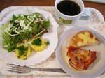 休みの日の朝食